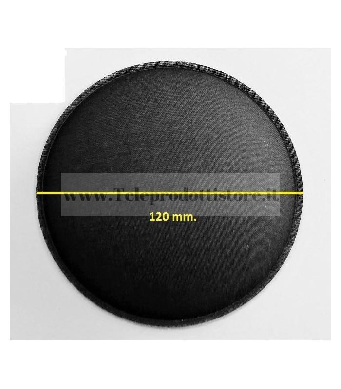 L10P10 Cupola parapolvere fonotrasparente di ricambio in tela per RCF copripolvere