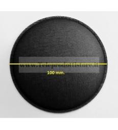 Cupola parapolvere 100 mm. fonotrasparente di ricambio in tela woofer copripolvere