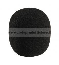 WS-60 Spugna antivento per microfono antipop anti pop vento cuffia nero