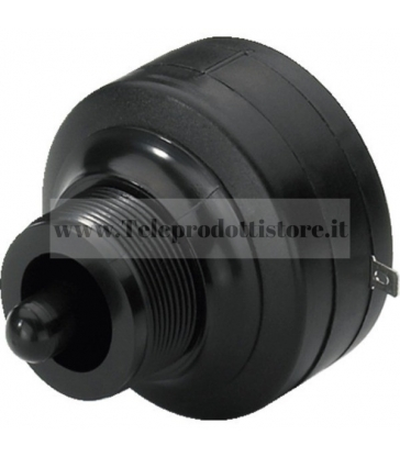 TWEETER DRIVER PIEZO ELETTRICO A VITE FILETTATURA STANDARD 3,5 mm unità tromba