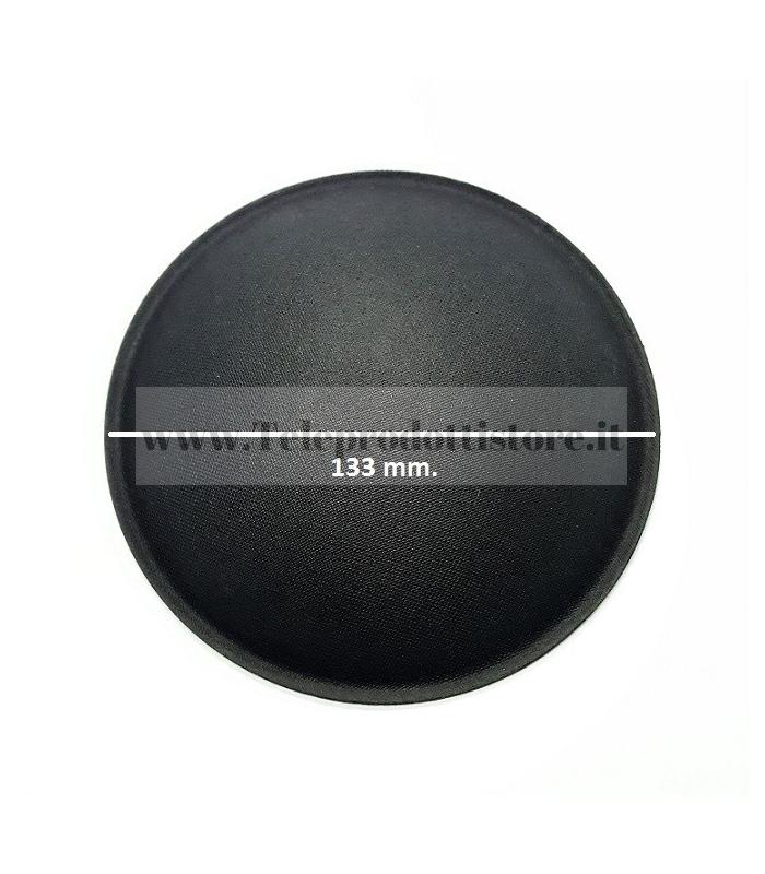 CUP-133 CUPOLA PARAPOLVERE 133 mm. COPRIPOLVERE DI RICAMBIO PER ALTOPARLANTI