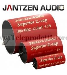 Z-Superior Cap Jantzen Audio 22.0µF- 800V 5% Assiale condensatore per crossover filtro HI-END
