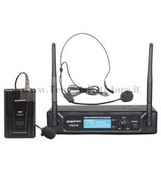 TXZZ111 MONACOR set radiomicrofono wireless ad archetto vhf175,50 mhz