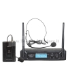 TXZZ112 MONACOR set radiomicrofono wireless ad archetto vhf 183,57