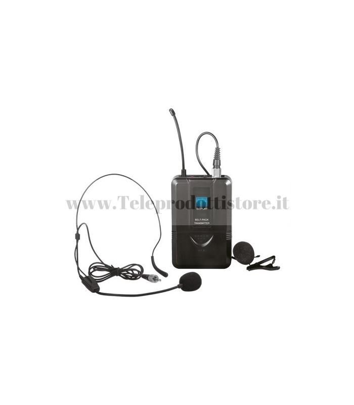 TXZZ6PT MONACOR bodypack con archetto per serie txzz6