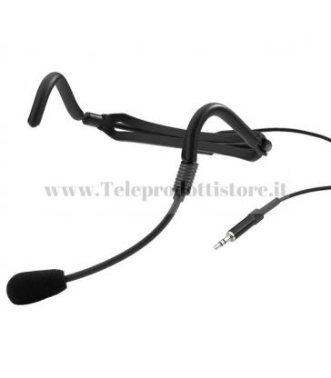 TXZZHS MONACOR microfono headset per txzz series