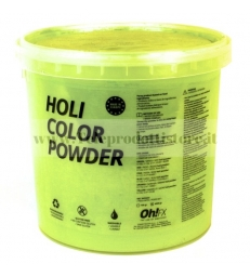 HOL5-AM Ohfx polvere holi party colorata gialla atossica lavabile 5kg