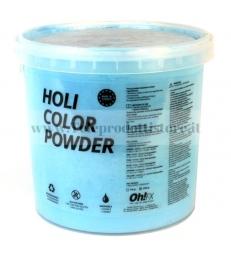 HOL5-AZ Ohfx polvere holi party colorata azzurra atossica lavabile 5kg