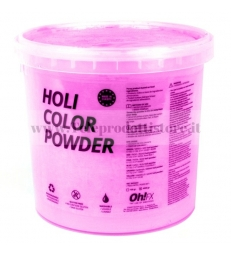HOL5-RS Ohfx polvere holi party colorata rosa atossica lavabile 5kg