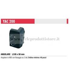 YAC200 Angolare paraspigolo in ABS plastica per diffusori casse box Ciare