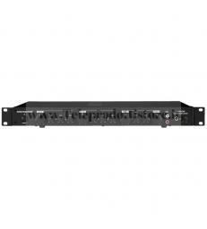 SA-440/SW Monacor AMPLIFICATORE STEREO 4 canali mixer 100W 2X50W