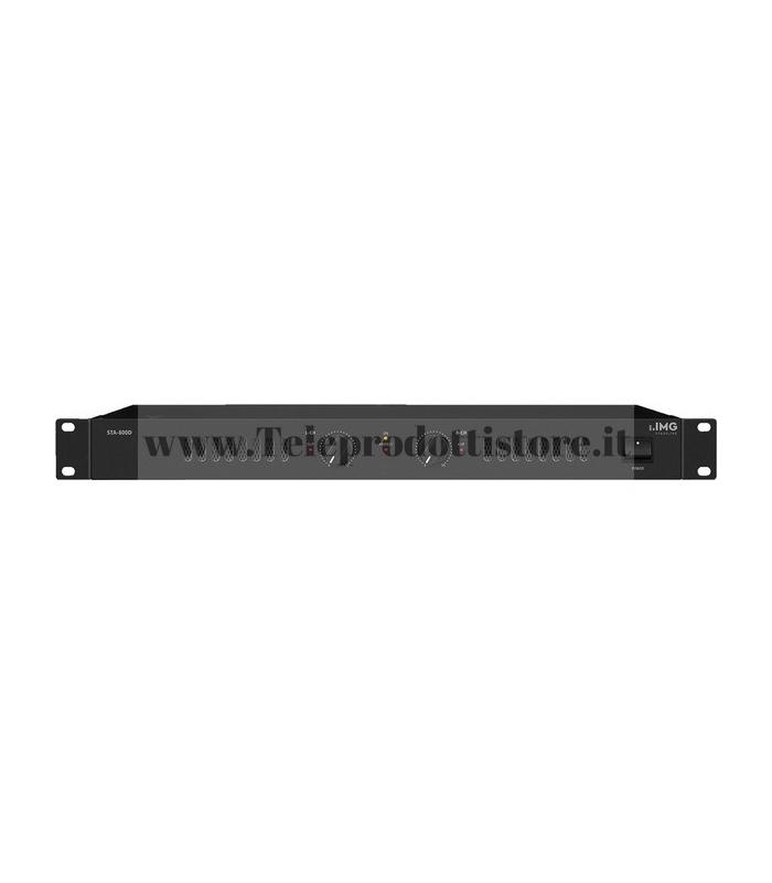 STA-800D Monacor AMPLIFICATORE DIGITALE 1000W  2 x 400 W 4OHM