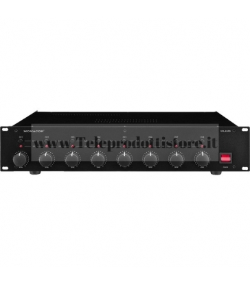 STA-850D Monacor AMPLIFICATORE DIGITALE a 8 canali  8x50WRMS 4OHM