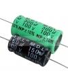 YCC0068 CONDENSATORE ELETTROLITICO ASSIALE 6.8 mf µF PER FILTRO CROSSOVER