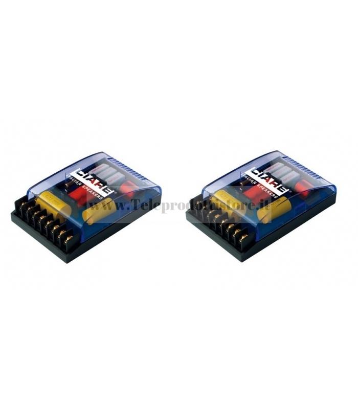 CF-230 COPPIA CROSSOVER 2 VIE CIARE 2,5 Khz 4 OHM 1600w CF230 CF 230 SPL
