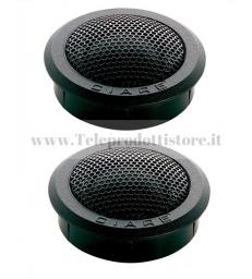 CT250 CIARE COPPIA TWEETER 25mm 4 OHM 150W CT-250 CT 250 AUTO CAR AUDIO SPL SQL
