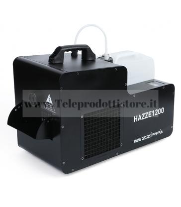 HAZZE1200 MONACOR Macchina Hazer Effetto Nebbia 1200w DMX Silenziosa
