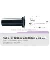 YAC411 tubo di accordo 60mm in ABS per casse bass reflex Ciare YAC 411 YAC-411