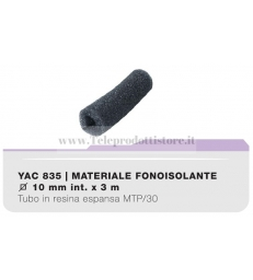 YAC835 Tubo materiale fonoisolante per cavi in resina espansa MTP/30