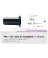 YAC416 tubo di accordo da 75mm per casse acustiche bass reflex Ciare