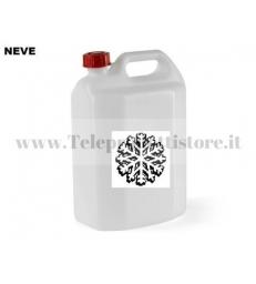 LQN Liquido per macchina produzione neve schiuma artificiale tanica da 5l.