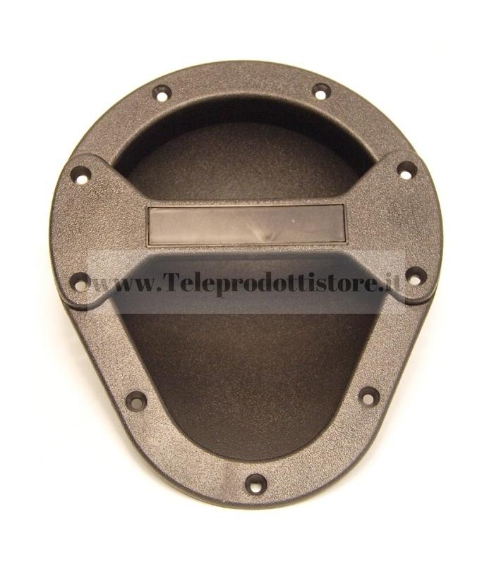 Maniglia ad incasso in ABS nera per flight case casse diffusori in legno 23x19x7