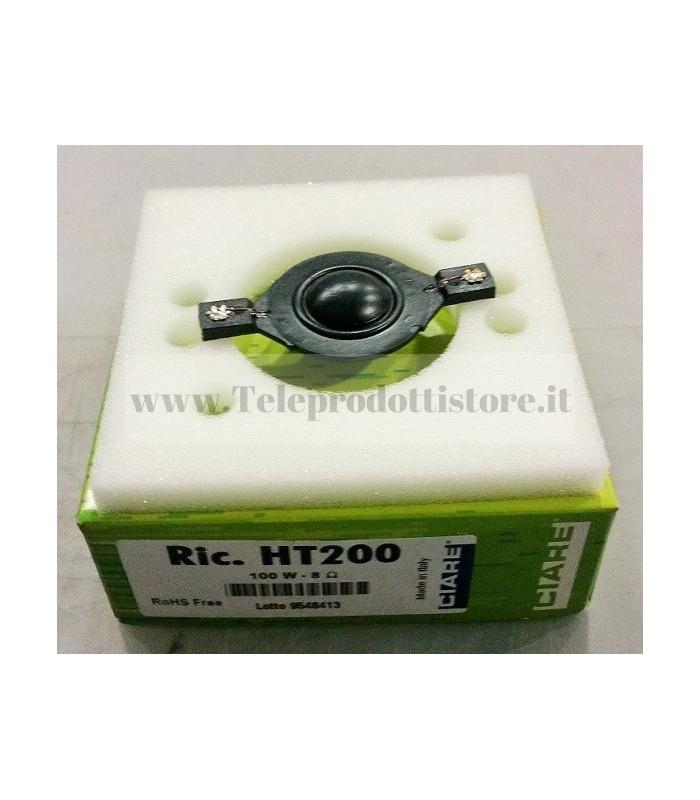 RHT-200 MEMBRANA DI RICAMBIO TWEETER CIARE HT-200 HT200 HT 200 RHT200