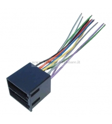 ISO-002 Connettore ISO autoradio connettore maschio auto altoparlanti spinotto