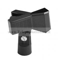 MSZZ041 Pinza supporto asta microfonica stativo microfonico per microfono