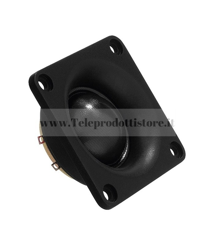 DT-28N MONACOR tweeter hifi cupola dome in seta 8 ohm 100 W DT28N