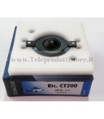 RCT-200 MEMBRANA DI RICAMBIO TWEETER CIARE CT-200 CT200 CT 200 RCT200