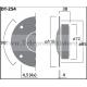 DT-254 Monacor tweeter a cupola HIFI 8 ohm 150W 110 mm. DT254