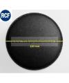 L10P10-1 Cupola parapolvere fonotrasparente di ricambio in tela per RCF copripolvere