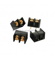 TB01 Morsetto terminale a vite Placcatura oro 24k per PCB filtro crossover Morsetti terminali