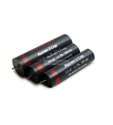 Alumen Z-Cap Jantzen Audio 8.20µF - 100V - 3% Assiale condensatore per crossover filtro HI-END