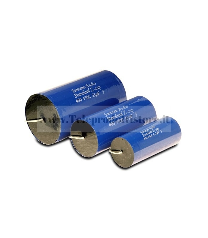 Z-Standard Jantzen Audio 3.90µF- 400V 5% Assiale condensatore per crossover filtro HI-END