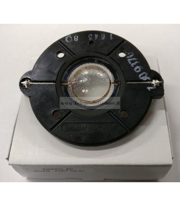 Z009370 Membrana driver tweeter di ricambio originale Sica FBT Jolly 8 BA CD83