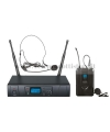 TXZZ601 MONACOR set radiomicrofono wireless ad archetto uhf 16ch