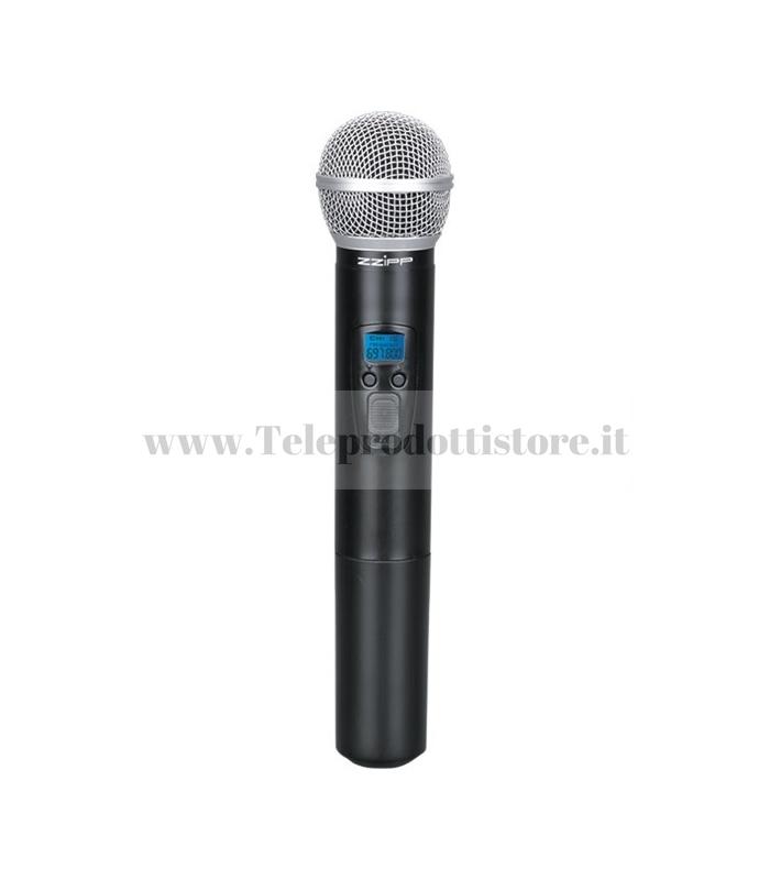 TXZZ6HT Zzipp radio microfono gelato di ricambio per serie txzz6 Monacor