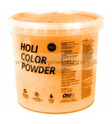HOL5-NJ Ohfx polvere holi party colorata arancione atossica lavabile 5kg