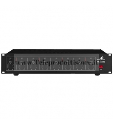 PA-1850D Monacor AMPLIFICATORE DIGITALE 100V 8X50W PA a 8 canali