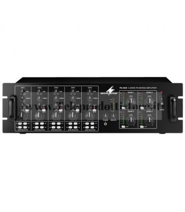 PA-4040 Monacor AMPLIFICATORE mixer 4 ZONE INDIPENDENTI 100V 4x40W mono 4 canali