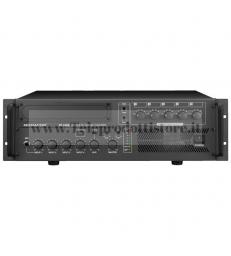 PA-5480 Monacor AMPLIFICATORE mixer 5 ZONE 100V 480W mono PA per 5 zone