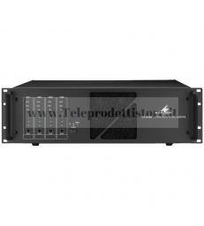 PA-4240 Monacor amplificatore finale di potenza100V 4X240W PA filodiffusione