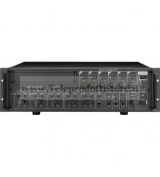 PA-6240 Monacor AMPLIFICATORE mixer 6 ZONE 100V 240W mono PA per6 zone