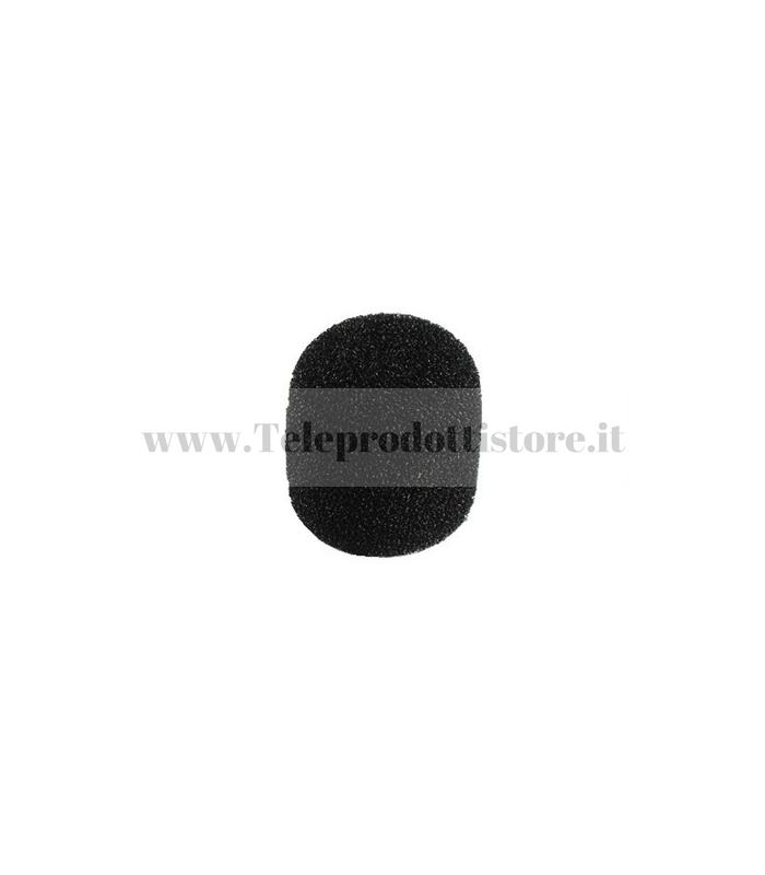 WS-20 Spugna antivento per microfono antipop anti pop vento cuffia nero