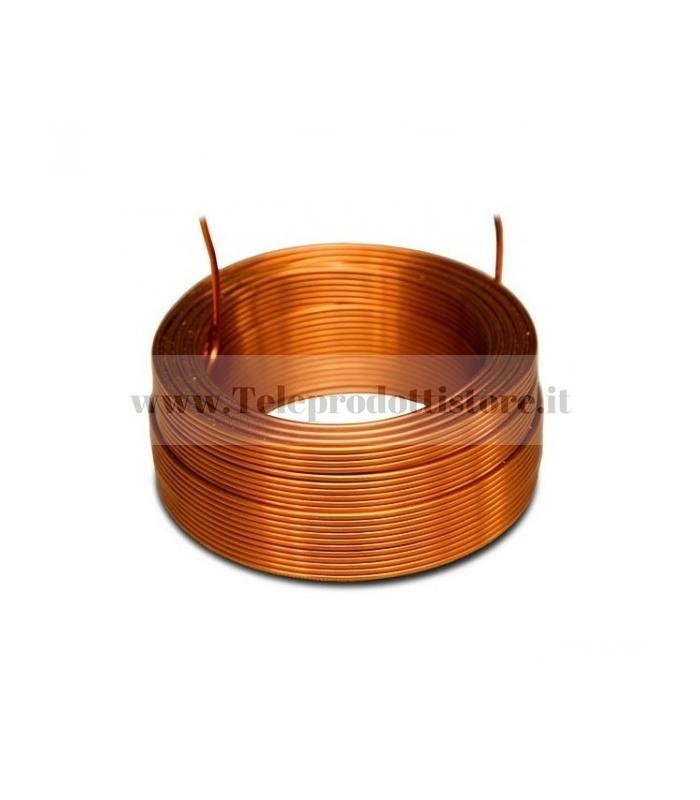 Bobina induttanza da 0.45 mH Ø 0.8 MM. Jantzen Audio avvolta in aria per filtro crossover