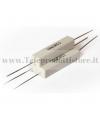 YCR0330 Resistore 3,3 OHM 10W ceramico a filo resistenza filtro crossover