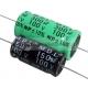 YCC0680 Condensatore elettrolitico assiale 68 mf µF per filtro crossover