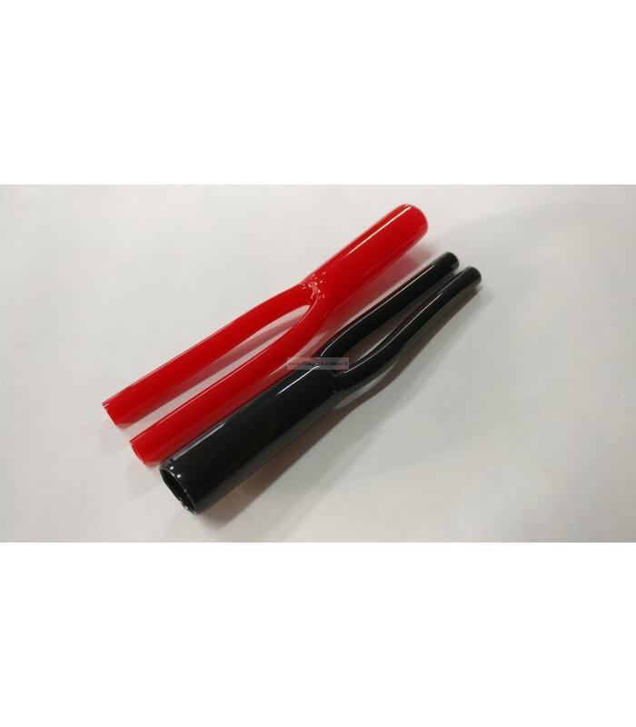 Coppia calzoncini sdoppiatori Y in vinile per cavo 10mm 2x 4mm sdoppiatore cavo